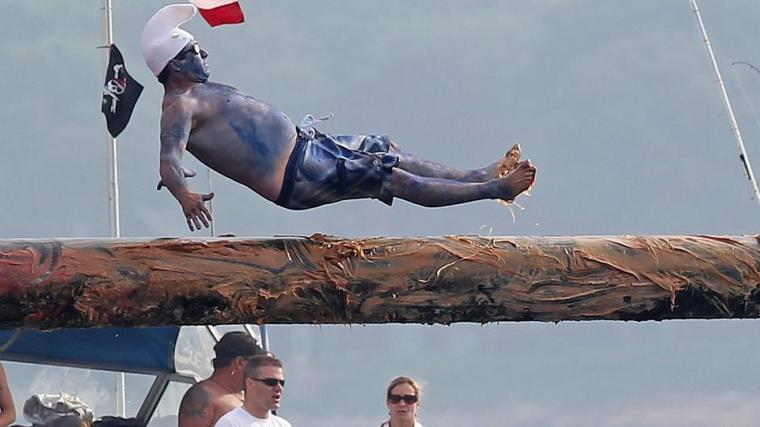 "All in favor of giving ""Drunkie Smurf"" the power of levitation say 'Aye'"