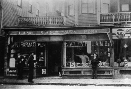O.G. Demoulas store, Lowell.
