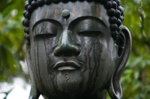 You're making the Buddha cry, Aunt Sandy