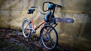Chainsaw bike. Do they have chainsaw bikes?