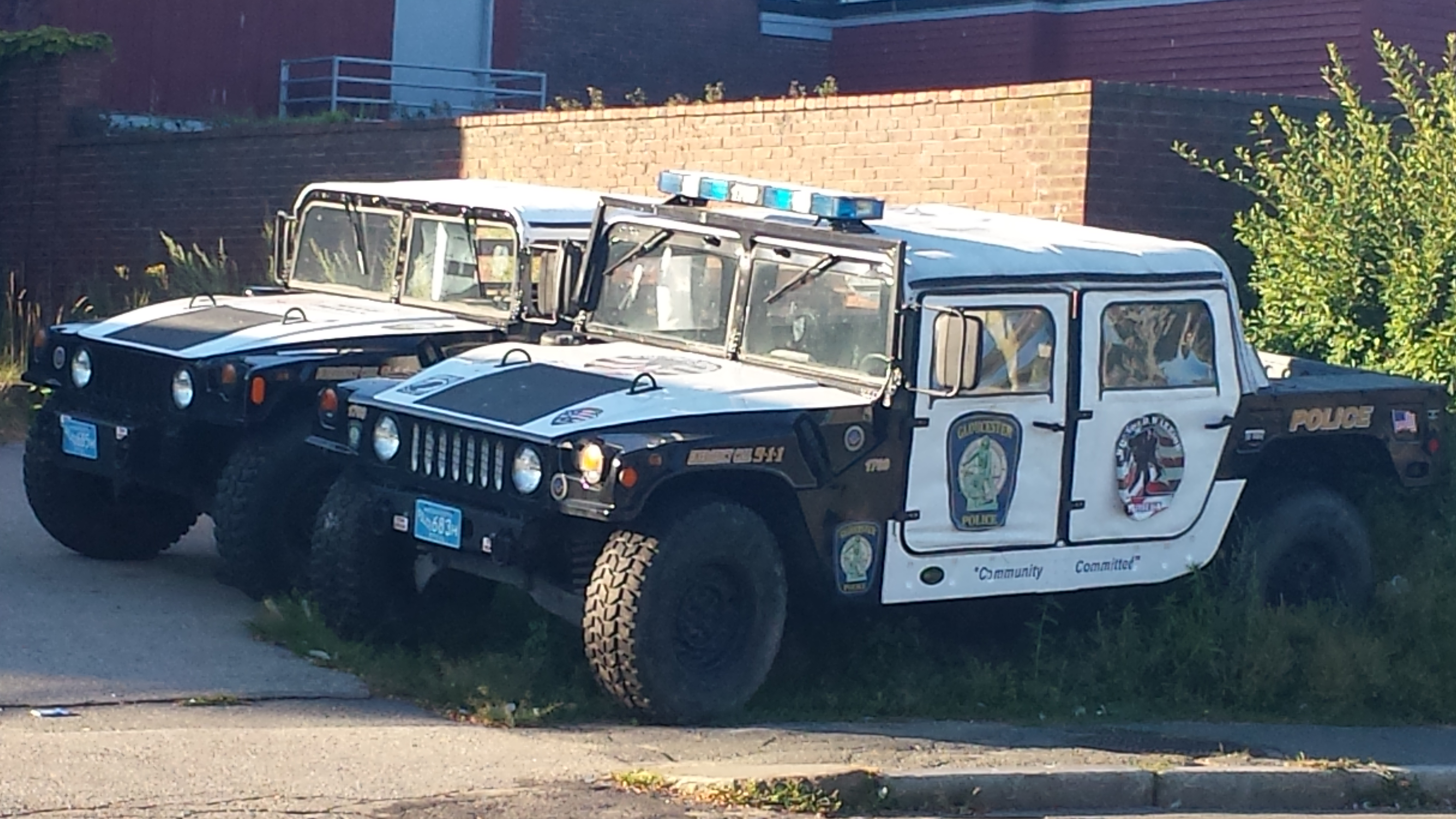 Make a Happy HUMVEE – The Gloucester Clam