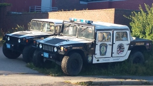 And if the zombies take our our first Humvee, we have the backup...