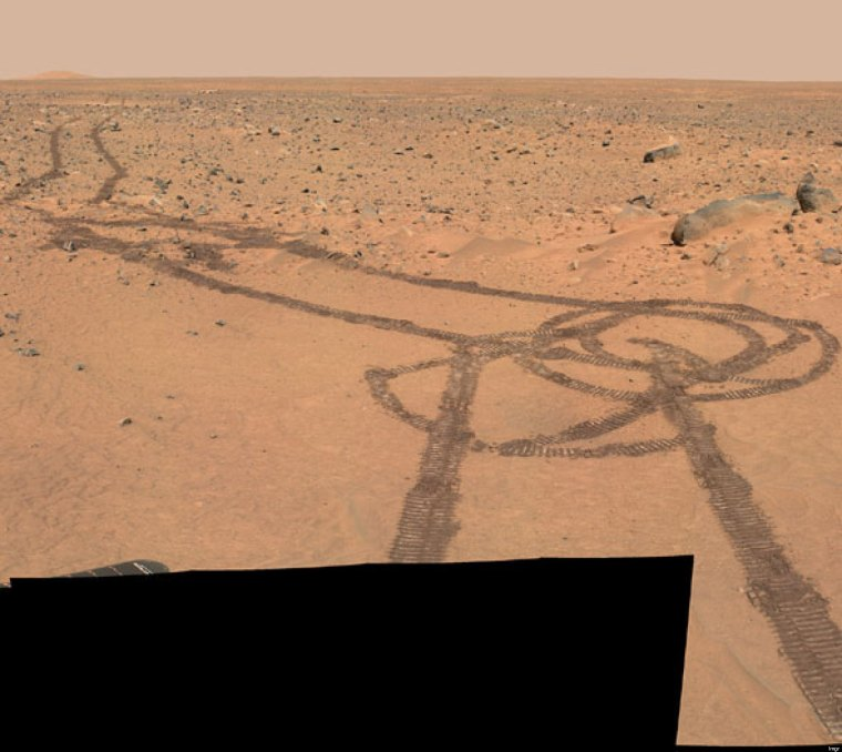 I should be humans drawing dicks in the Martian soil, not robots